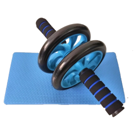 Abdominal muscle training wheel